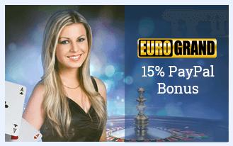 Casinos mit speziellem PayPal-Bonus